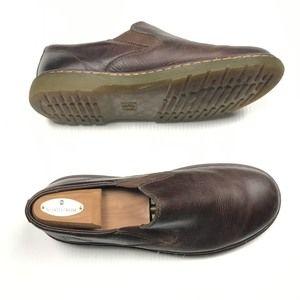 ❤️Dr Martens Brown Leather Slip On Shoes EU 42